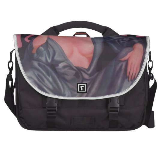 Pink Elephants Laptop Computer Bag