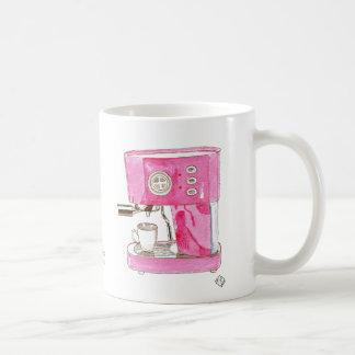 Pink Espresso Maker Mug