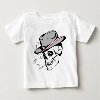 pink eye skull baby T-Shirt