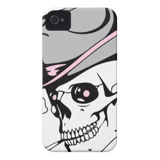 pink eye skull iPhone 4 Case-Mate case