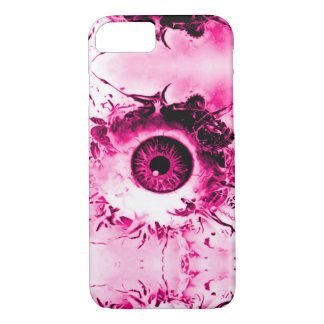 Pink Eye Watcher Horror Show iPhone 7 Case
