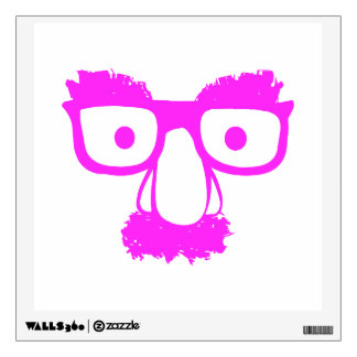 PINK FACE WALL STICKER