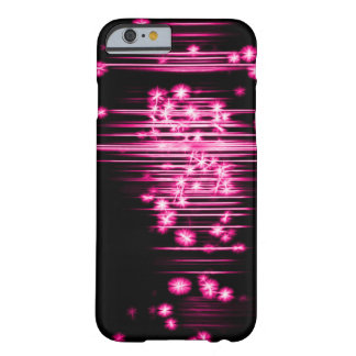 Pink faerie Lights Fractal Art Barely There iPhone 6 Case