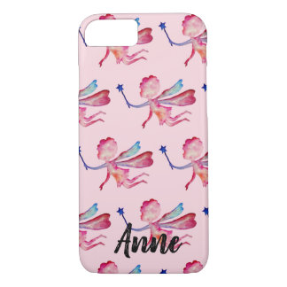 Pink Fairy Custom Apple iPhone 8/7, Barely There iPhone 8/7 Case