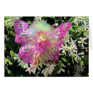 Pink Fairy Greeting Card