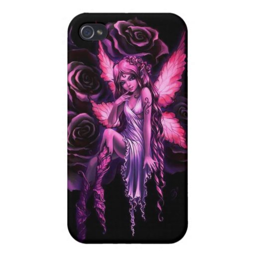 Pink Fairy iPhone 4/4S Cover