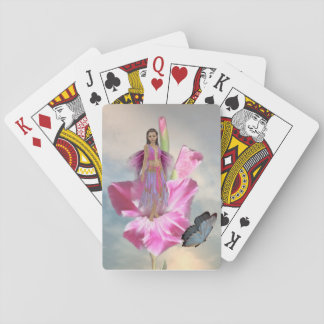 Pink Fairy Playing Cards
