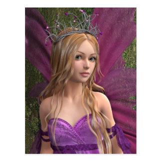 Pink Fairy Postcard