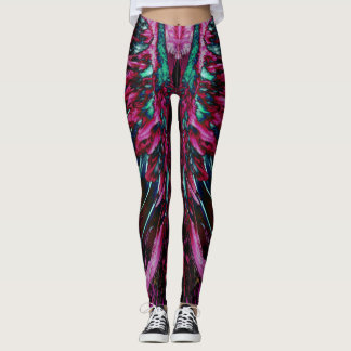 Pink Fairy Wings Leggings