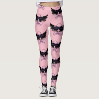 Pink Fallen Angel Leggings