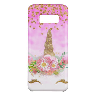Pink Fantasy and Golden Stars Unicorn Case-Mate Samsung Galaxy S8 Case