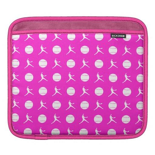 Pink Fastpitch iPad Sleeve