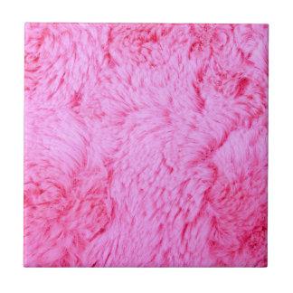 Pink Faux Fur Tile