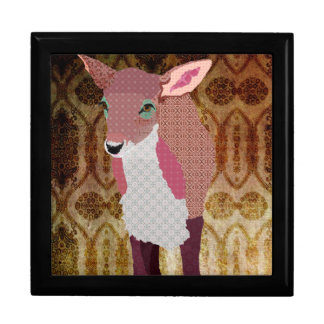 Pink Fawn Vintage Gift  Box Gift Boxes
