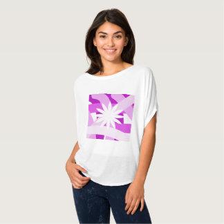 Pink Fest Flower Flowy Blouse T-Shirt