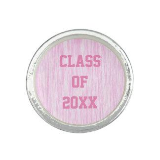 Pink Fiber Photo Ring