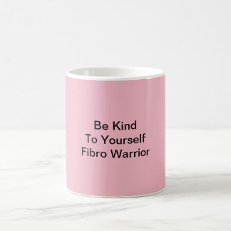 Pink Fibro Warrior Mug