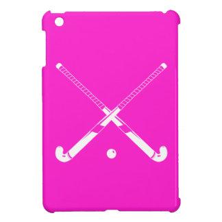 Pink Field Hockey iPad Mini Case