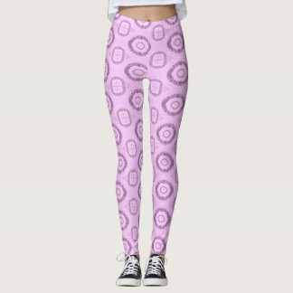 Pink Fire Ice Official Quaraun The Insane CosPlay Leggings