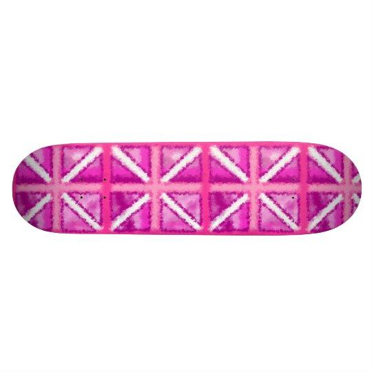Pink Flag Girly SKate Deck