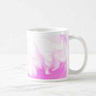 Pink flame mug