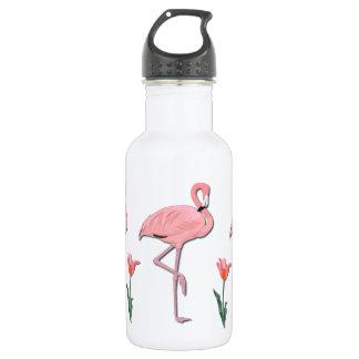 Pink Flamingo 532 Ml Water Bottle