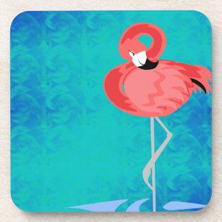 Pink Flamingo Coaster
