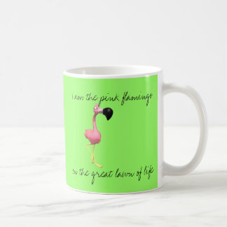 Pink Flamingo Coffee Cup