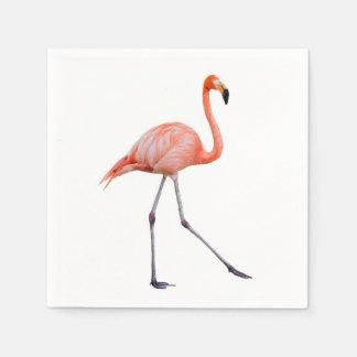 Pink Flamingo Disposable Napkins