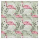 Pink Flamingo & Fabric
