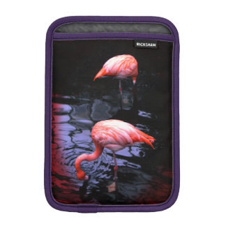 Pink Flamingo iPad Mini Sleeve