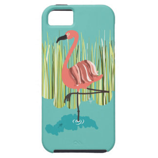 Pink flamingo iPhone 5 cover