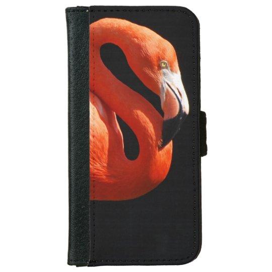 Pink Flamingo iPhone 6 Wallet Case