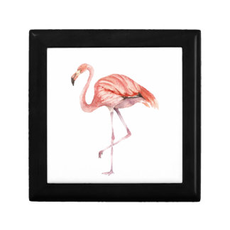 Pink Flamingo Jewelry Boxes