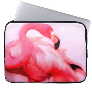 Pink Flamingo Laptop Sleeve
