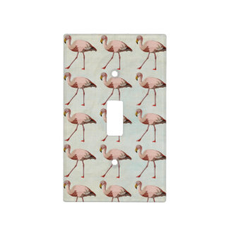 PINK FLAMINGO Light Switch Light Switch Covers