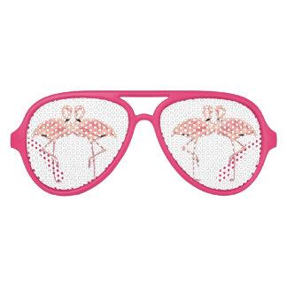 Pink Flamingo Love Party Shades