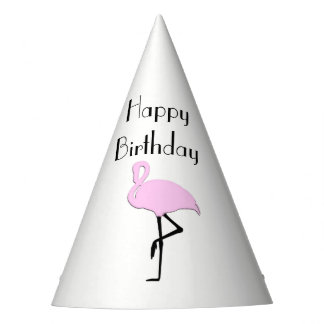 Pink Flamingo Party Hat