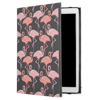 Pink Flamingo pattern Beach iPad Pro case