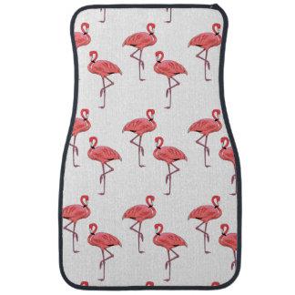 Pink Flamingo Pattern Car Mat