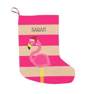 Pink Flamingo Personalized Stocking