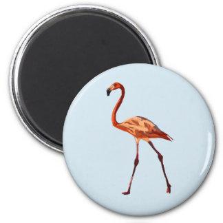Pink Flamingo Standard, 5.7 Cm Round Magnet