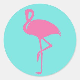 Pink Flamingo Sticker