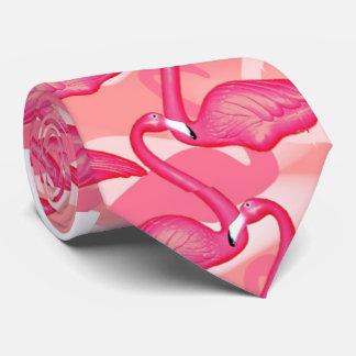 pink flamingo tie