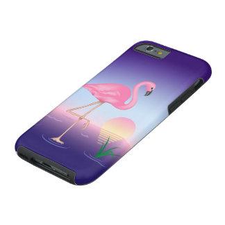 Pink Flamingo Tough iPhone 6 Case