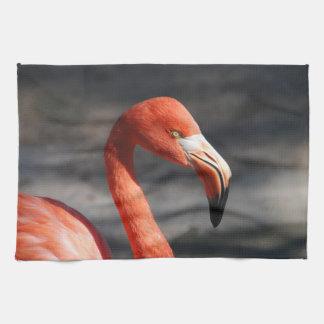 Pink Flamingo Towel