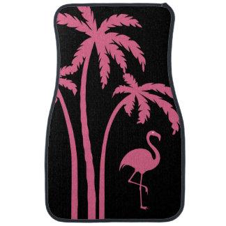 Pink Flamingo TropicalDesign Car Mat