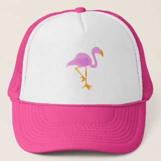 Pink Flamingo Trucker Hat