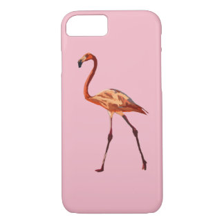 Pink Flamingos Apple iPhone 7, Barely There iPhone 8/7 Case