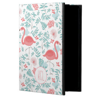 Pink Flamingos & Flowers Seamless Pattern Powis iPad Air 2 Case